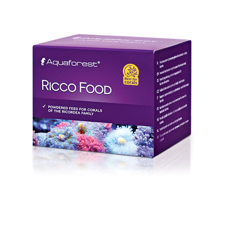 Aquaforest Ricco Food 30g - WIndows to the Ocean Aquarium Supplies