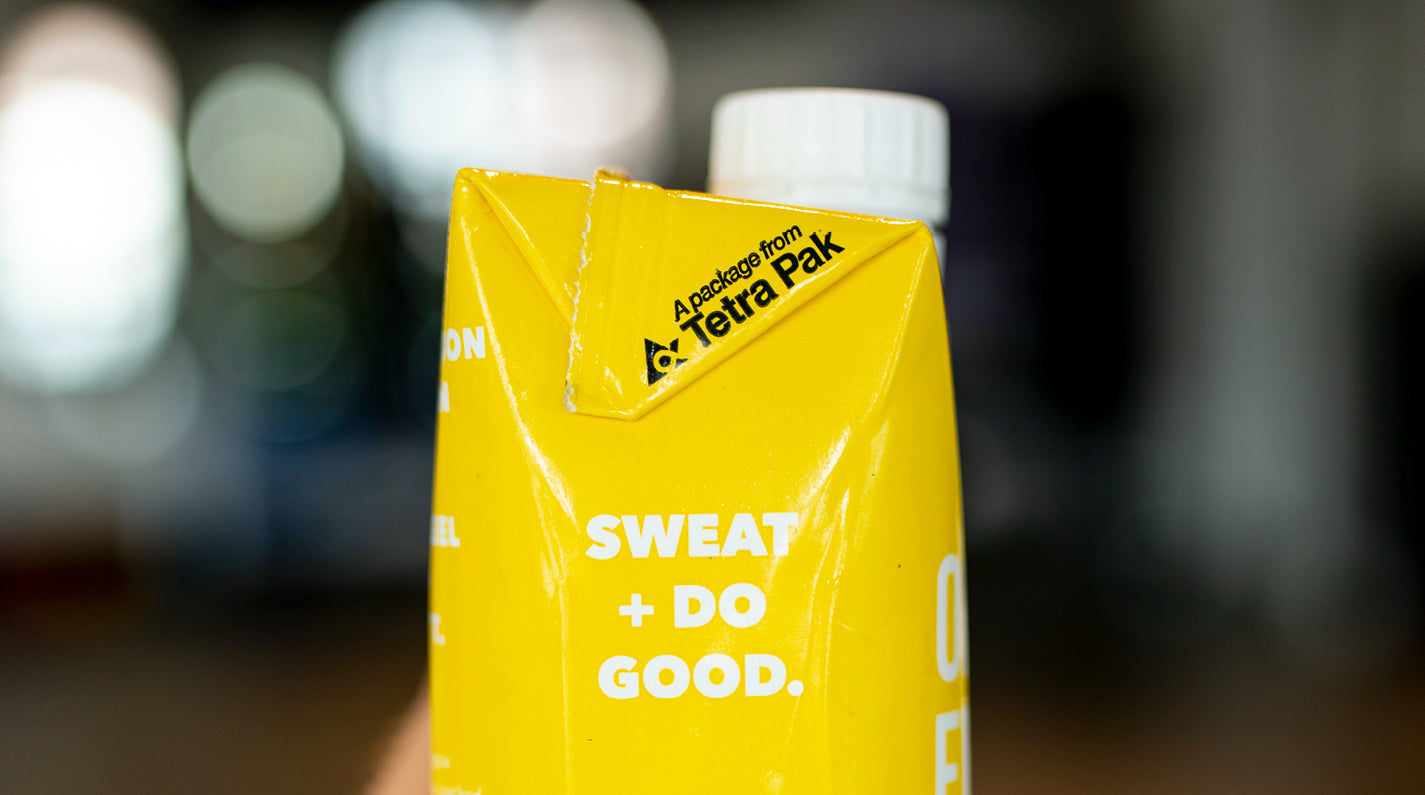 Sweat + Do Good. It's Not Just a Catchphrase. It's Our Way of Doing Business.