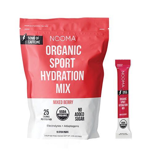 The Real-Ingredient Hydration Mix: Mixed Berry + Caffeine (50mg)