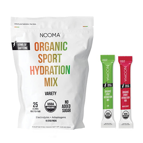 The Real-Ingredient Hydration Mix: Variety Caffeinated