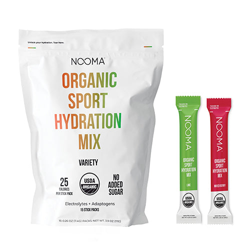 The Real-Ingredient Hydration Mix: Variety Non-Caffeinated