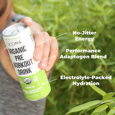 The Real-Ingredient Sport Energy Drink: Lemon Lime