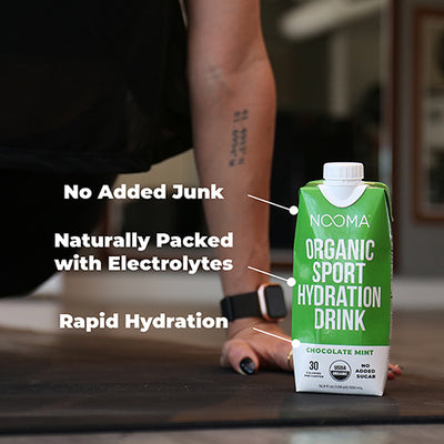 The Real-Ingredient Sports Drink: Chocolate Mint