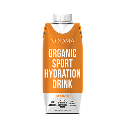 The Real-Ingredient Sports Drink: Mango