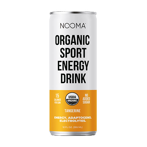 The Real-Ingredient Sport Energy Drink: Tangerine