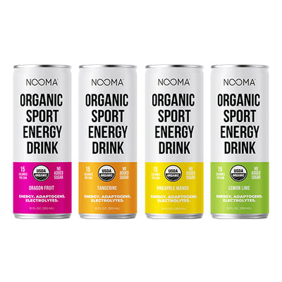 The Real-Ingredient Sport Energy Drink: Variety Pack