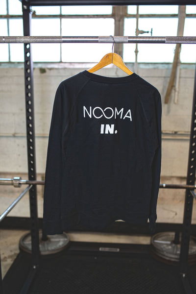 Sweat Out. NOOMA In. Long Sleeve: General Promo