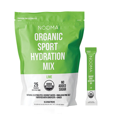 The Real-Ingredient Hydration Mix: Lime Trial Pack (30% Off)