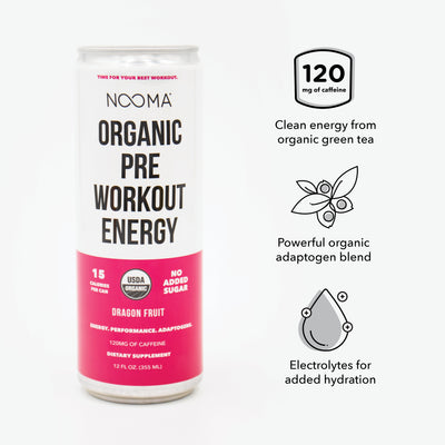 The Real-Ingredient Pre-Workout: Variety Trial 12-Pack (30% Off)