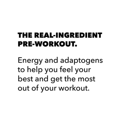 The Real-Ingredient Pre-Workout: Variety Trial 12-Pack