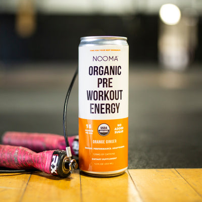 The Real-Ingredient Pre-Workout: Orange Ginger