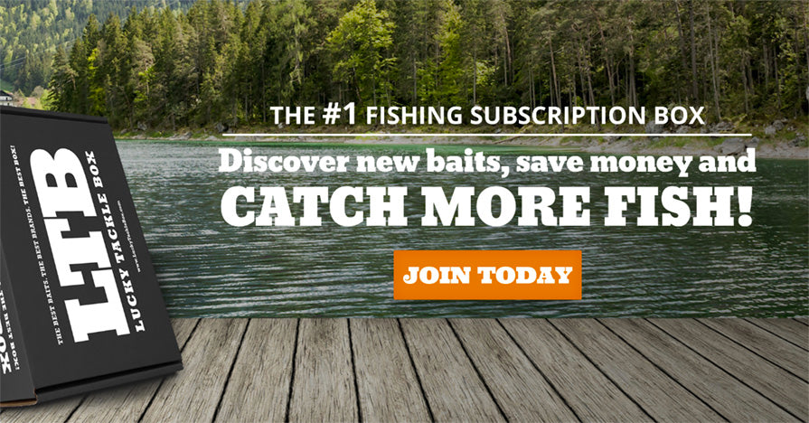 Lucky tackle box the 1 rated monthly fishing for Fishing box subscription
