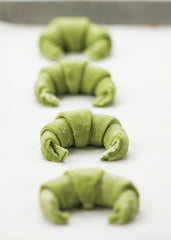 Mizuba Matcha Croissants. Green Tea Pastry recipe.