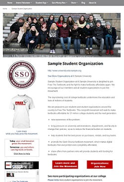 Sample Student Organization