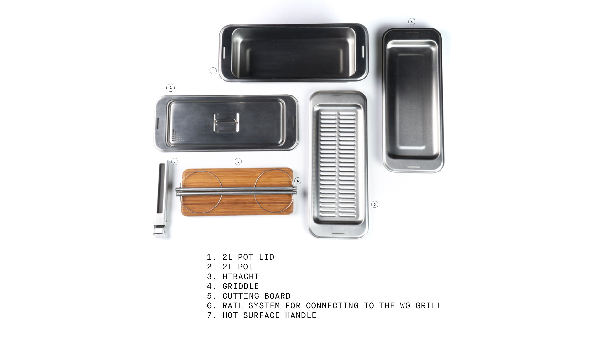 Cook Set kit contents