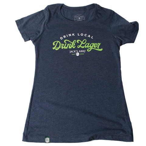 Women's Drink Local, Drink Lager T-Shirt