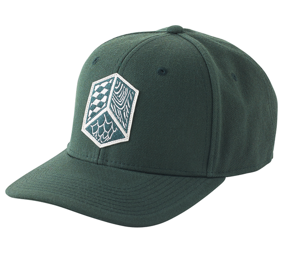 Shield Insignia Flat Brimmed Hat