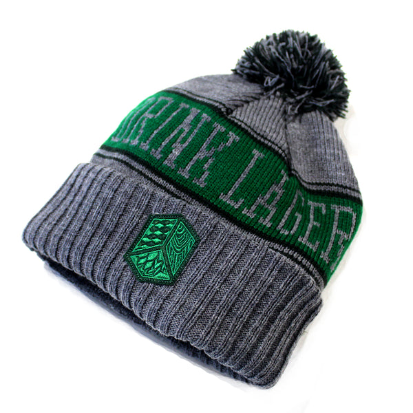 Drink Lager Pom Pom Knitted Hat - Multiple Colors