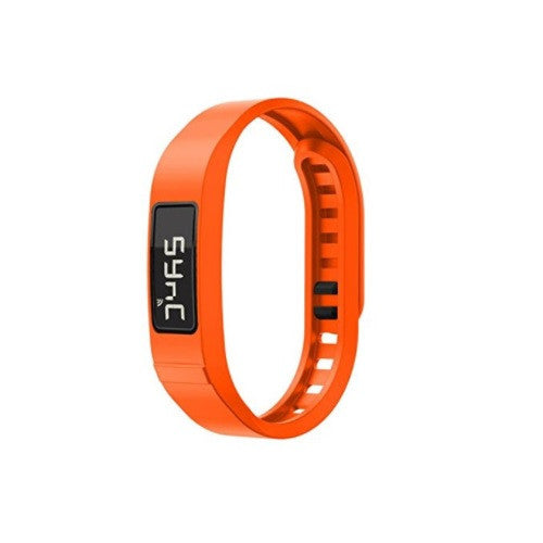 Rem kompatibel med Garmin Vivofit 2 ekstra armbånd i orange, small / large