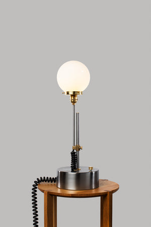 Curly Q Table Lamp