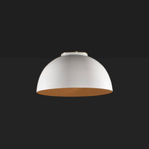 Rolf flush mount dome ceiling light