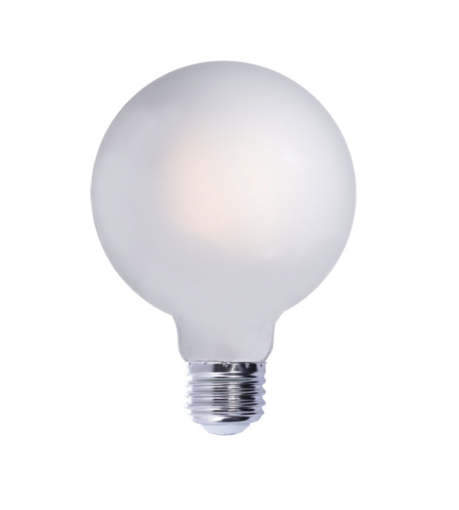 Frosted Light Bulbs >> Led G40 Frosted Light Bulb