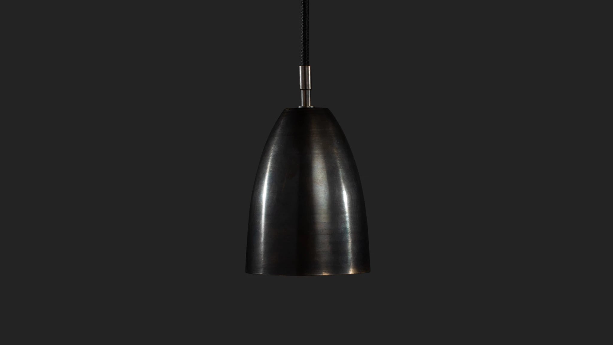 Betty Pendant in Black Brass