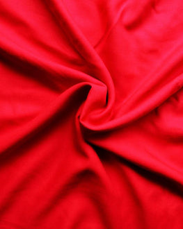 Red Rayon Fabric ()