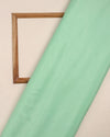 Light Green Plain Chinnon Chiffon Fabric