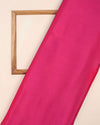 Fuchsia Plain Chinnon Chiffon Fabric