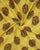 Yellow/Green Hand Block Floral Mughal Chanderi Silk Fabric - Fabriclore.com