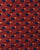 Red & Blue Traditional Ajrak Screen Print Cotton Fabric - Fabriclore.com