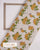Beige & Yellow Exclusive Design Floral Hand Block Cotton Fabric - Fabriclore.com