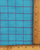 Turquoise & Purple Checks Handloom Cotton Fabric - Fabriclore.com