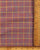 Brown & Blue Checks Handloom Cotton Fabric - Fabriclore.com