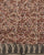 Beige & Brown Paisley Handloom-Textured Hand Block Jacquard Border Cotton Fabric - Fabriclore.com