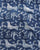 Blue & White Animal Hand Block Cotton Fabric - Fabriclore.com