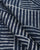 Blue & White Stripes Indigo Hand Block Cotton Fabric - Fabriclore.com
