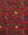 Red & Blue Animal Kalamkari Screen Print Cotton Fabric - Fabriclore.com