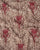 Brown & Red Abstract Screen Print Cotton kantha Fabric - Fabriclore.com