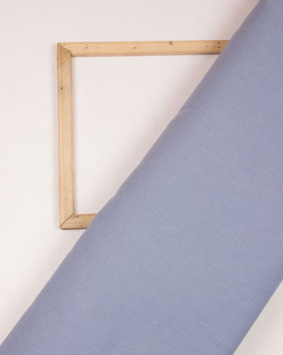 Blue Plain Woven Flex Cotton Fabric - Fabriclore.com