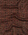 Brown & Red Ajrak Traditional Natural Dye Modal Satin Fabric - Fabriclore.com