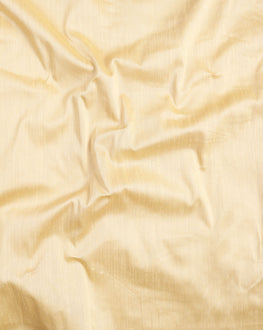Beige Plain Art Raw Silk Fabric - Fabriclore.com