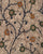 Off-White & Blue Floral Screen Print Kalamkari Rayon Fabric - Fabriclore.com