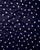 Navy-Blue & White Polka Dots Screen Print Rayon Fabric ( Width 56 Inch ) - Fabriclore.com