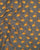 Grey & Yellow Animal Screen Print Rayon Fabric - Fabriclore.com