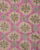Pink Textured Screen Print Slub Cotton Fabric - Fabriclore.com