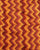 Maroon & Yellow Chevron Screen Print Slub Cotton Fabric - Fabriclore.com