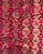 Fuchsia & Red Traditional Banarasi Satin Fabric - Fabriclore.com