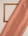 Atomic tangerine Orange Plain Heavy Satin Fabric